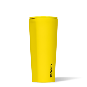 Neon Lights yellow 24 oz Tumbler corkcicle