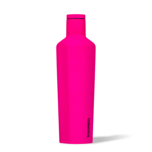 Corkcice Neon Lights pink 25oz Canteen