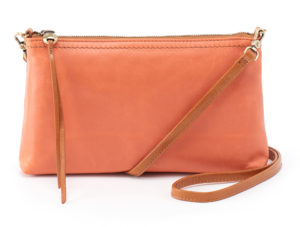 leather Darcy Dusty Coral Crossbody by hobo the original