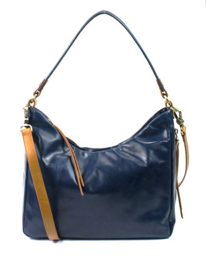 leather Delilah Sapphire Crossbody by hobo the original
