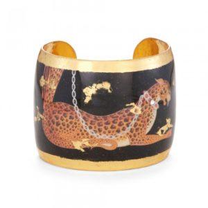Erté Leopard Cuff