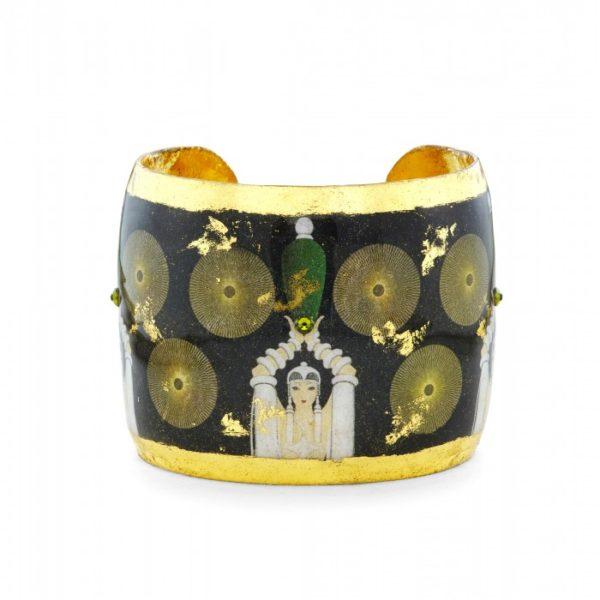Erté Emerald Vase Cuff