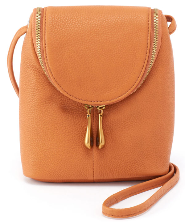 leather Fern Whiskey Crossbody by hobo the original