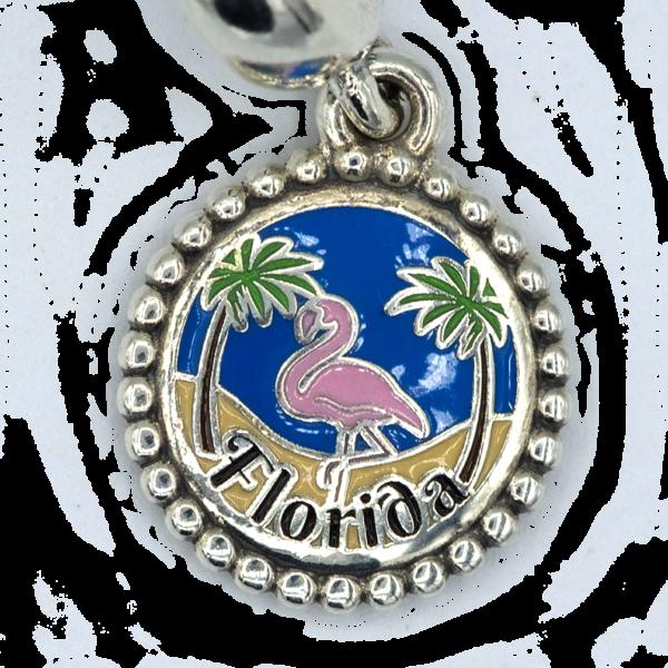 florida flamingo pandora exclusive charm