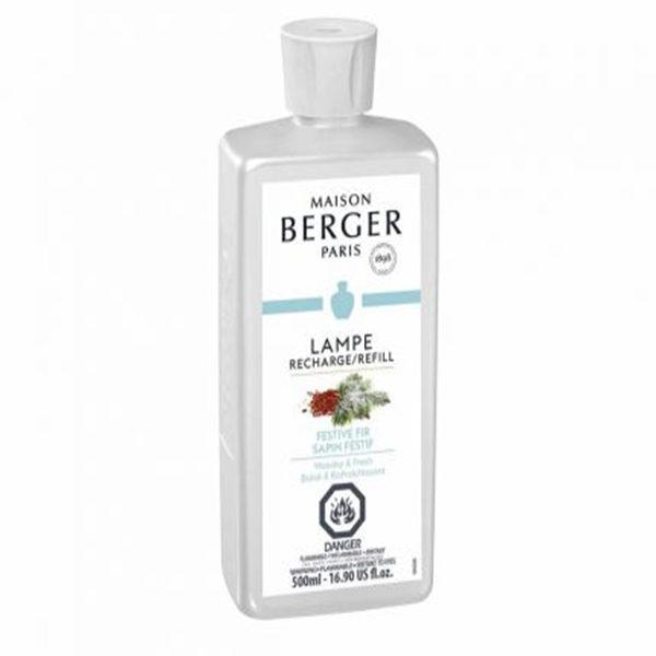 Festive fir home fragrance air purifier by lampe berger maison berger