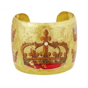 French Crown Cuff