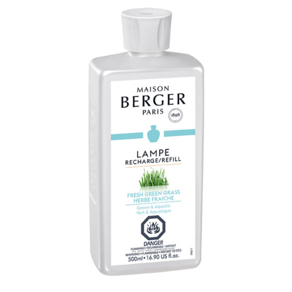 Fresh Green Grass home fragrance by lampe berger maison berger