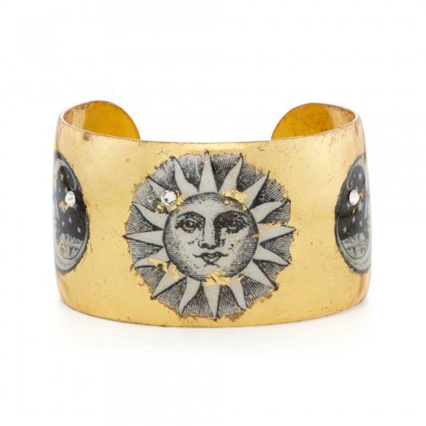 Sun and Moon Cuff