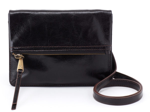 leather Glade black Clutch by hobo the original