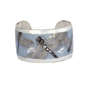 Dragonfly Cuff - Silver