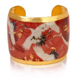 Kimono Crane Cuff