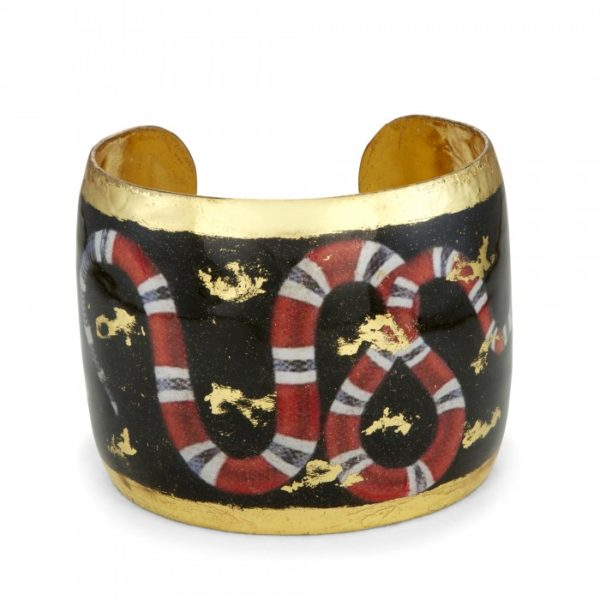 Red Snake Cuff