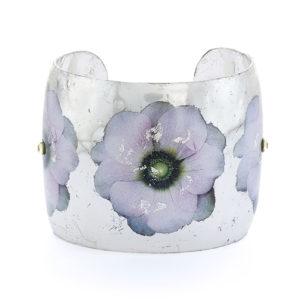 Anemone Cuff - Silver