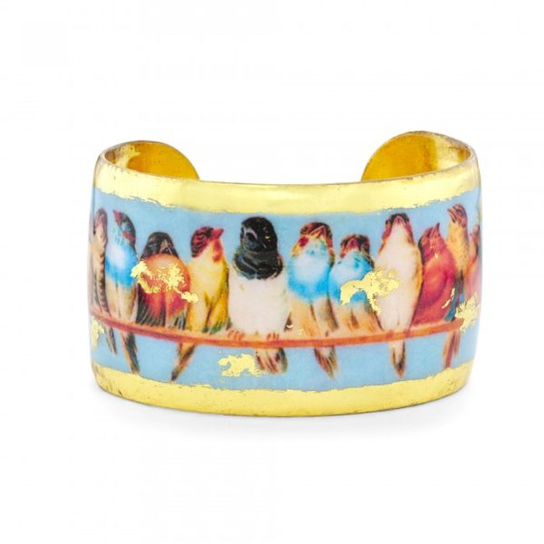 A Perch of Birds Cuff