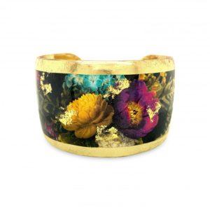 Midnight Bouquet Cuff