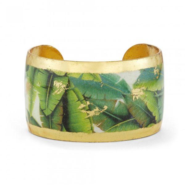 Banana Leaf Cuff