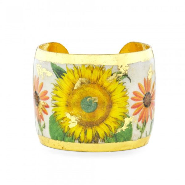 Sunflower and Daisies Cuff