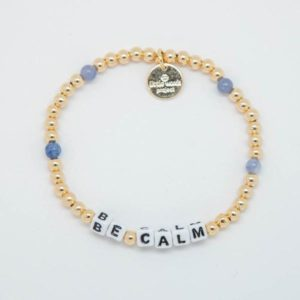 Be Calm- Gold-Filled