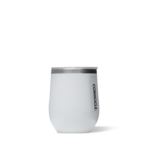 12oz Stemless Wine Tumbler White by corkcicle