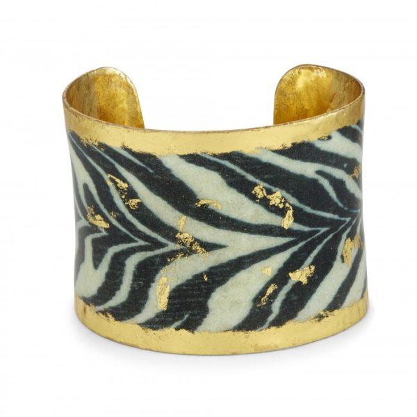 Zebra Corset Cuff
