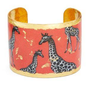 Giraffe Dreams Cuff - Orange