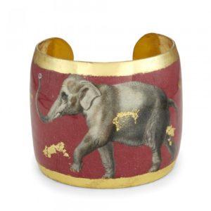 Three Elephants - Crimson Cuff