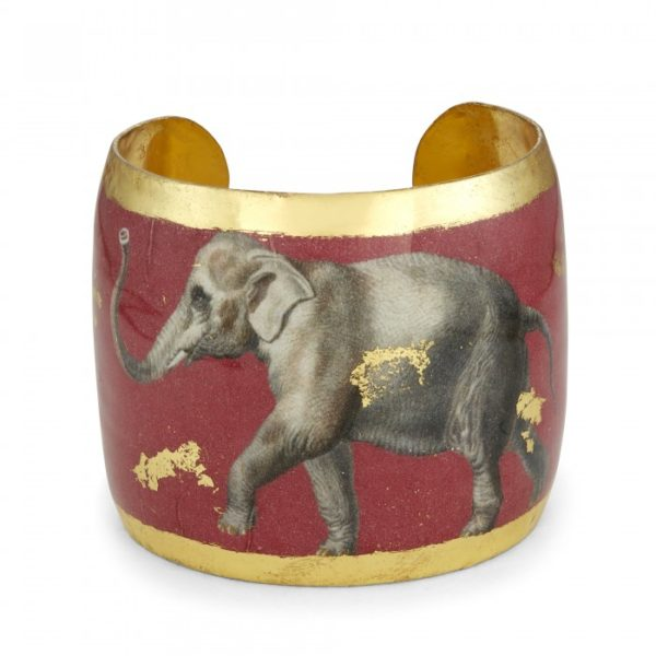 Three Elephants - Crimson Cuff