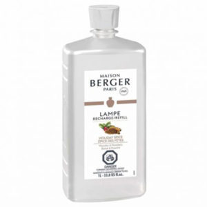 Holiday Spice Liter home fragrance air purifier by lampe berger maison berger