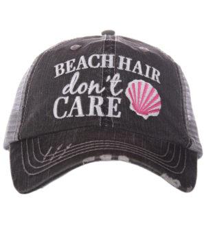 Beach Hair Don't Care Shell
