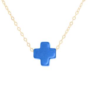 "16"" Necklace Gold - Signature Cross"