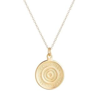 """16"""" Necklace Gold - Athena Small Gold Charm"""