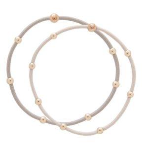 """""""e""""ssentials bracelet stack of 2 - neutral set"""