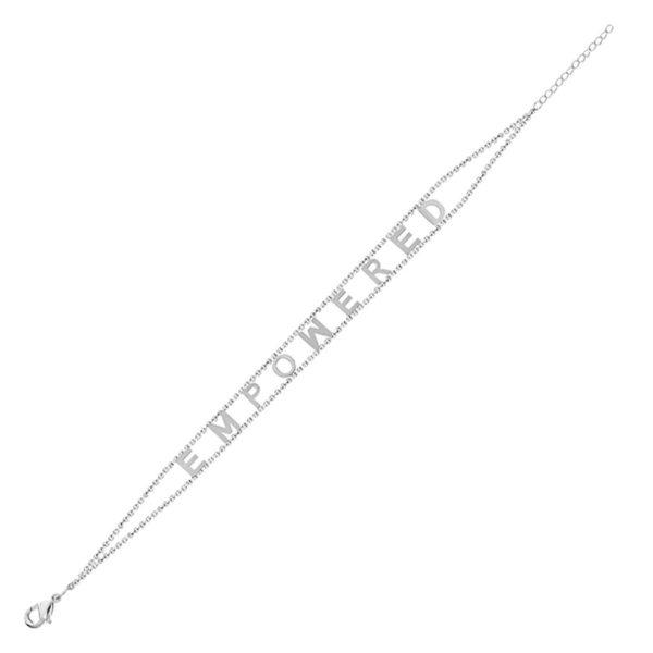 EMPOWERED BRACELET - WHITE EB22W