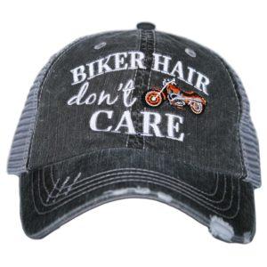Biker Hair Don't Care