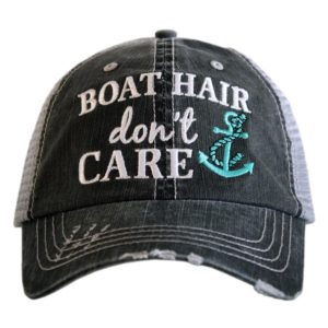 Katydid Wholesale Katydid Boat Hair Don't Care Wholesale Trucker Hats