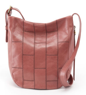 leather Kharma Burnished Rose Tote by hobo the original
