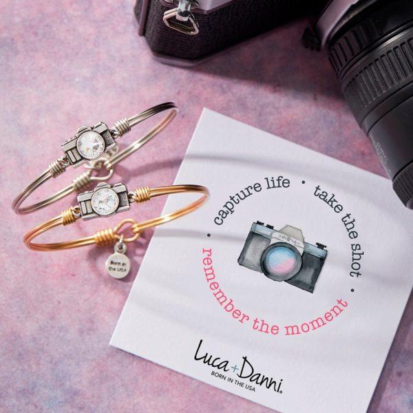 Camera Bangle Bracelet