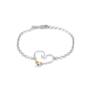 hook heart anklet by nau-t-girl