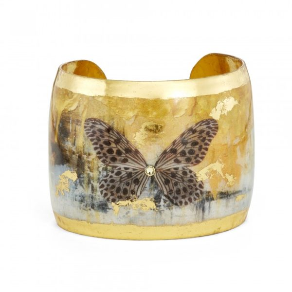 Gold Rush Butterfly Cuff