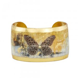 """Gold Rush Butterfly Cuff - 1.5"""""""