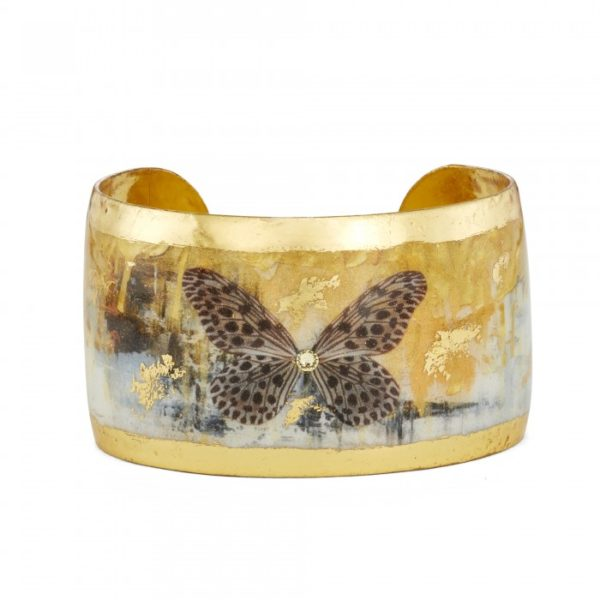 Gold Rush Butterfly Cuff - 1.5""