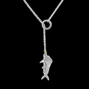 lariat mahi fish necklace by nau-t-girl