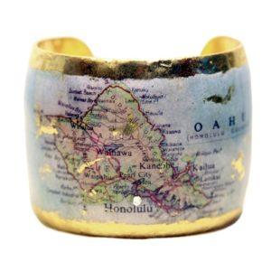 Honolulu Map Cuff