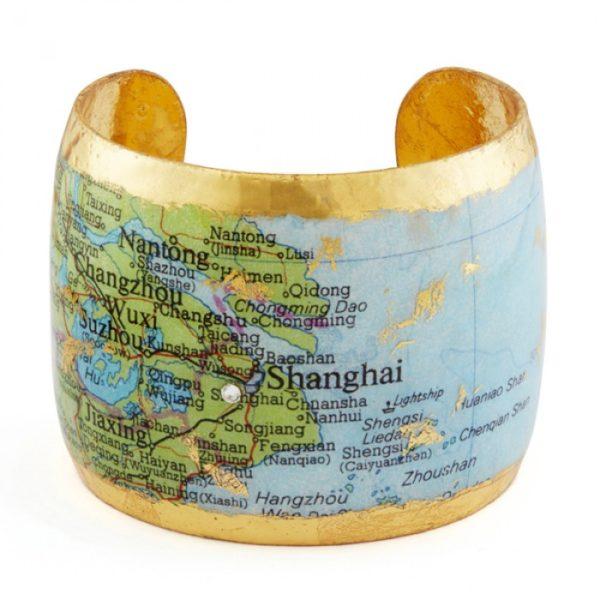 Shanghai Map Cuff