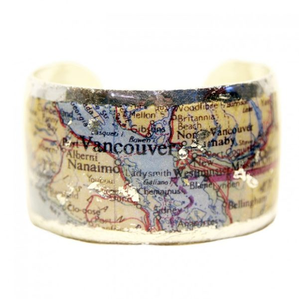 Vancouver Map Cuff