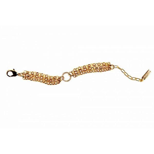 Three Strand Signature Charm Bracelet