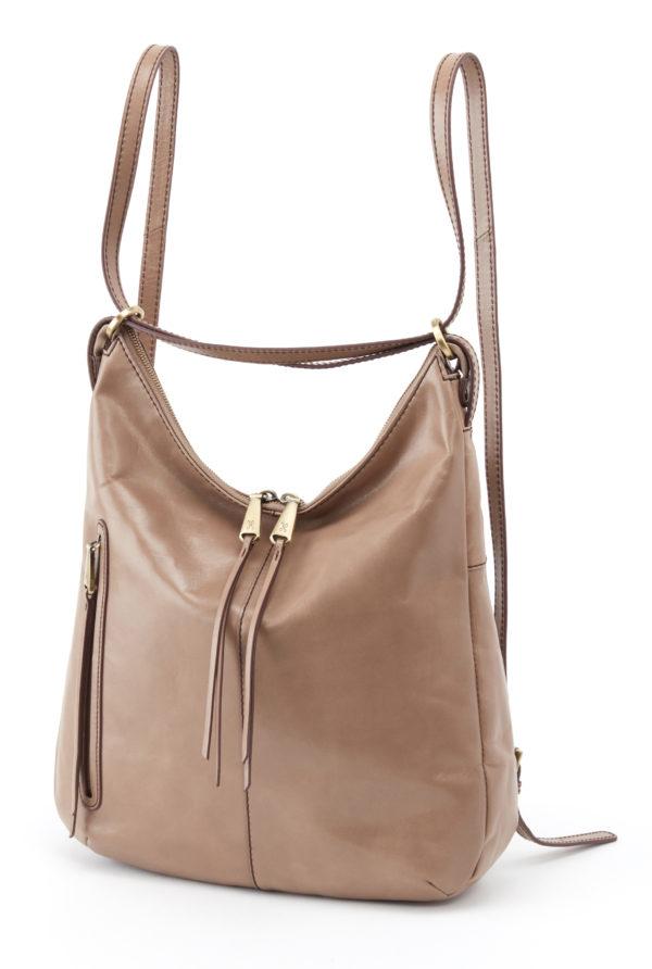 leather Merrin Cobblestone Backpack by hobo the original