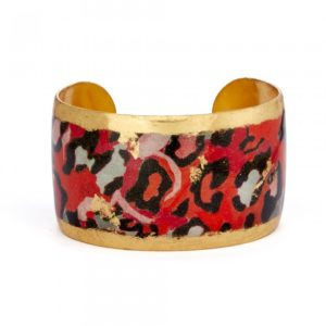 Red Leopard Cuff