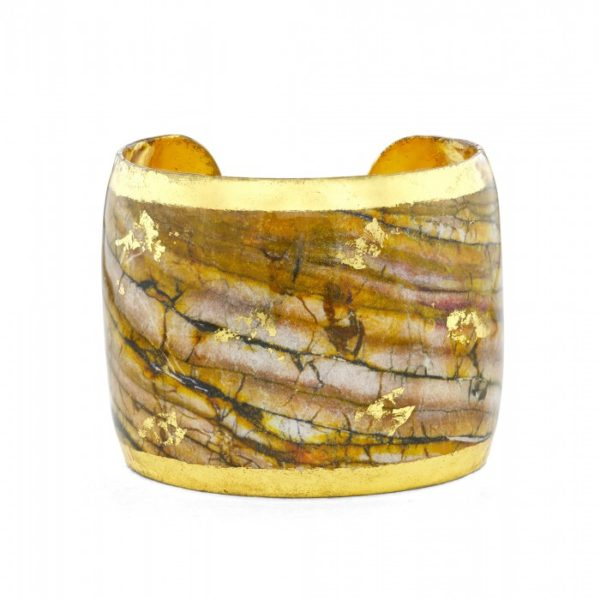 Marble & Bronze Cuff