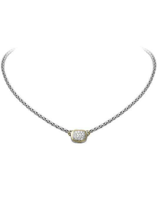Nouveau CZ Single Strand Necklace by John Medeiros Jewelry Collections